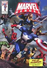 MARVEL HEROES  POP-UP CALENDAR ~ Wolverine Captain America Spider-Man poster NEW