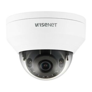 Hanwha Wisenet 5MP with 2.8mm Outdoor Vandal Resistant Dome Camera QNV-8010R