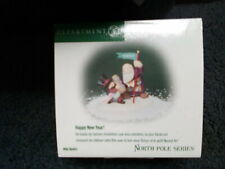 """Department 56 North Pole Series #56443 - """"Happy New Year!"""" - Mib!"""