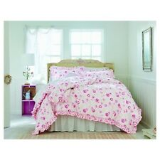 Simply Shabby Chic Peony Pink 2 Piece Comforter Set Twin NEW