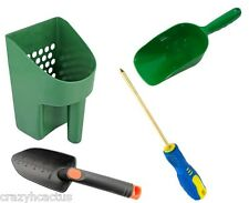 Metal Detecting Detector Tool Kit Sand Scoop Hand Trowel Super Scoop Brass Probe