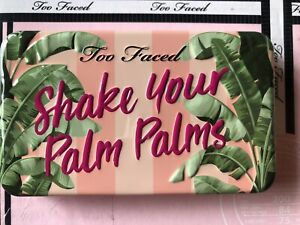 Too Faced Shake Your Palm Palms Eyeshadow Palette NWB New Travel Neutral