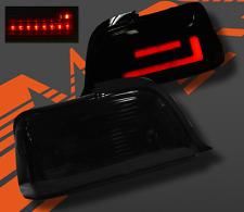 2 FEUX ARRIERE NOIR TRANSLUCIDE BMW SERIE 3 E36 COUPE / CABRIOLET A LED BARRE 3D