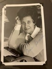 Erma Bombeck Signed Photograph