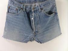 Vintage Denim Casual Shorts cotton Blue size w30 Grade B M336