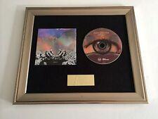 PERSONALLY SIGNED/AUTOGRAPHED AIDEN GRIMSHAW - MISTY EYE FRAMED CD PRESENTATION.