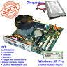 KIT Carte mère MICRO ATX + Processeur + mémoire + disque dur + Windows XP PRO