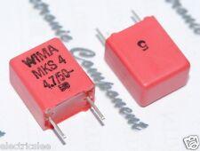 2pcs - WIMA MKS4 4.7uF (4.7µF 4,7uF) 50V 5% pich:7.5mm Capacitor