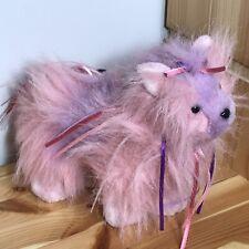 "Yorkshire Terrier 9"" Pink Plush Ribbon Yorkie Ganz Webkinz HM410 No Code"