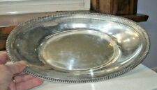 Large Oval Sterling Silver Serving Dish Fischer 2250  9.5 ounces