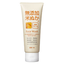 Rosette Japan Rice Bran Face Wash Additive-Free Cleanser 140g
