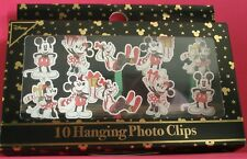 PRIMARK DISNEY Mickey Mouse and Friends 10 HANGING PHOTO CLIPS - Brand New Xmas