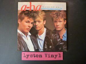 "A-ha - Take On Me 12"" Vinyl Single"