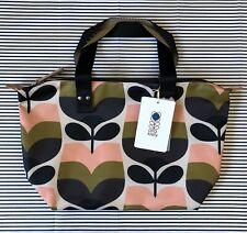 ORLA KIELY Stripe Rose Bud SMALL Zip Shopper Bag ~ New with Tag