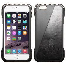 Fundas con tapa color principal negro de silicona/goma para teléfonos móviles y PDAs
