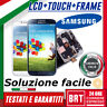 D073_DISPLAY LCD+TOUCH SCREEN+FRAME ORIGINALE X SAMSUNG GALAXY S4 GT-I9505 I9500