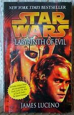 STAR WARS: LABYRINTH OF EVIL, James Luceno, UK pb 2005 (9780099484288)