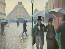 Paris Street; Rainy Day by Gustave Caillebotte - 300 Piece Wooden Jigsaw Puzzle