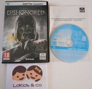 JEU PC DVD-ROM DISHONORED JUST FOR GAMES 18+ VERSION FRANCAISE INTEGRALE