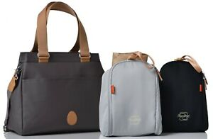 *RRP £92* Brand New Richmond Classic Changing Bag in Slate - Direct from PacaPod
