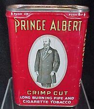 Vintage Prince Albert Crimp Cut Tobacco Tin Pipe Cigarette R. J. Reynolds