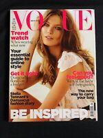 British Vogue Magazine May 2009 - Stella Tennant, Christopher Kane, Kate Phelan