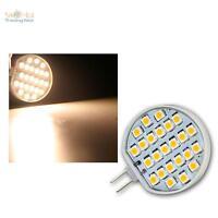 G4 LED Stiftsockel-Lampe/Leuchtmittel 24x POWER SMD LEDs warmweiß 90lm Birne G 4