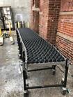 Expanding CONVEYOR 24' x 32' Skatewheel Rollers Heavy Duty Material Handling