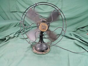 Vintage ROBBINS & MYERS Working Electric Fan No 5600 Collectible R&M Antique Fan