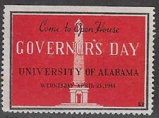 Usa Cinderella: Governor's Day Open House, University of Alabama, 1941- dw885.22