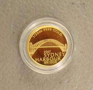 2007 $5 1/25 oz Australia Sydney Harbour Bridge Gold Bullion Coin Gem Proof