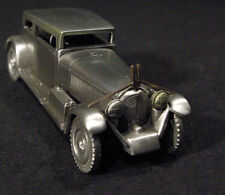 """1934 VOISIN"" 17 CV SOLID PEWTER CAR ~ NEW ~ DANBURY MINT"