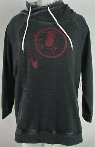 Washington Redskins NFL Touch Women's Plus Size Slouch Neck Pullover Sweater