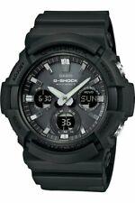 CASIO G-SHOCK GAW-100B-1A Tough Solar Atomic Radio Watch GAW100B-1A Mens Black