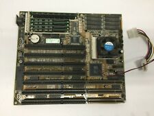 Vintage 4SGS-3VL 3.2 Motherboard With CPU intel 486 DX2-66 and RAM