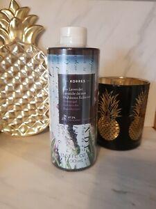 Korres Sea Lavender Shower Gel 400ml Supersize - BRAND NEW & SEALED