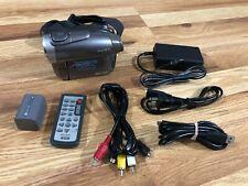 Sony DCR-DVD403 3MP DVD Handycam Camcorder w/10x Optical Zoom