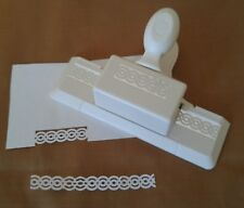 Martha Stewart Paper Cutting Punch DOUBLE CIRCLE DOILY LACE Loop Trim Retired