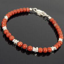 Best Healing Bracelets for Reiki Red Jasper Natural Gemstones Root Chakra Stones