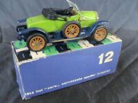 FIAT RIO MODEL MODELLO ZERO 0 BOX  MACCHININA OLD TOYS VINTAGE