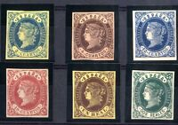 Sellos de España 1862 57/62 serie Isabel II ref. A1