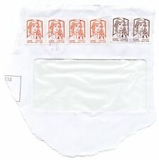 4 timbres 1,00€ + 2 timbres 0,10€ Marianne de Ciappa et Kawena