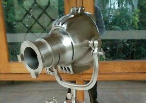 Theater Searchlight Spotlight Heavy Aluminium Cast Lamp Light