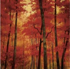 "VERMILLION WOOD - ROBERT STRIFFOLINO - ART PRINT 27.5"" X 27.5"""