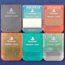 PS1 - Playstation ► Memory Card - 15 Bloc ◄ Carte mémoire Original