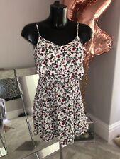 Vestido de verano H&M Floral lindo tamaño 8