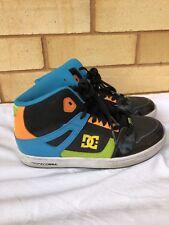 DC size 6 mens high tops skate shoes tween boys 25cm Skater shoes Half Cabs