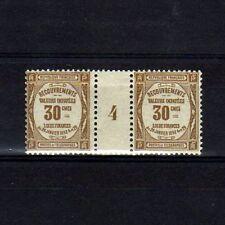FRANCE Taxe n° 46 neuf sans charnière - Paire millésime 4