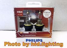 GENUINE Philips X-treme xtreme Vision 9006 HB4 +100% headlight bulb light XV