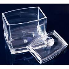 Acrylic Crystal Cosmetic Organizer Case Holder Drawers Storage Box Jewelry